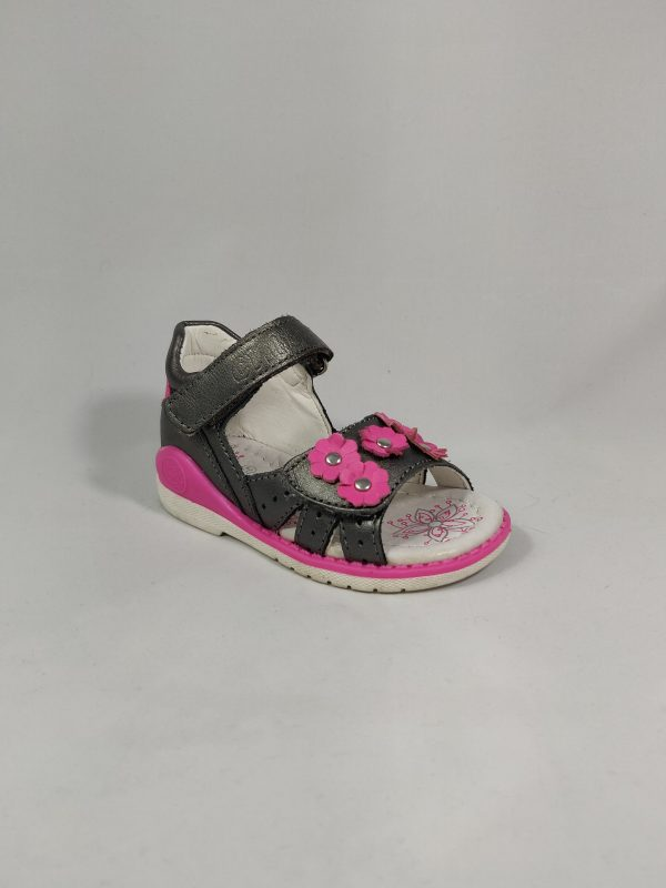 vaikiški mergaitiški batukai basutės pilos ir rožinės spalvos, su gelytemis