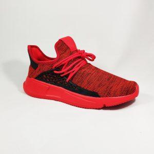 Raudoni vyriški kedai
