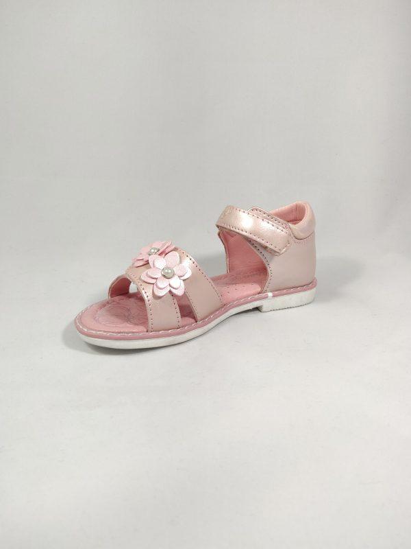 mergaitiškos vaikiškos basutės rožinės spalvos su lipniu užsegimu ir gelytėmis