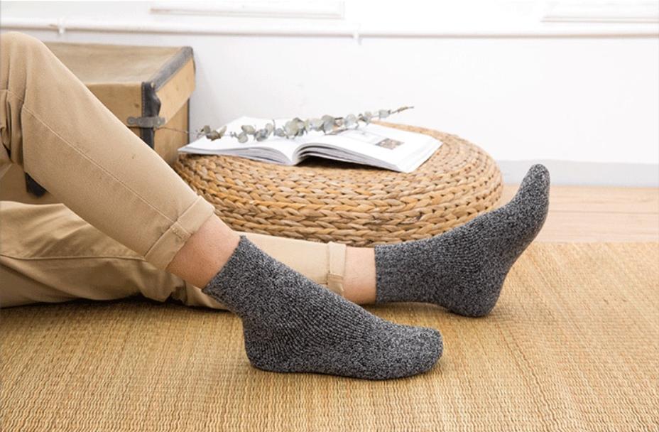 vilnones kojines vyrams