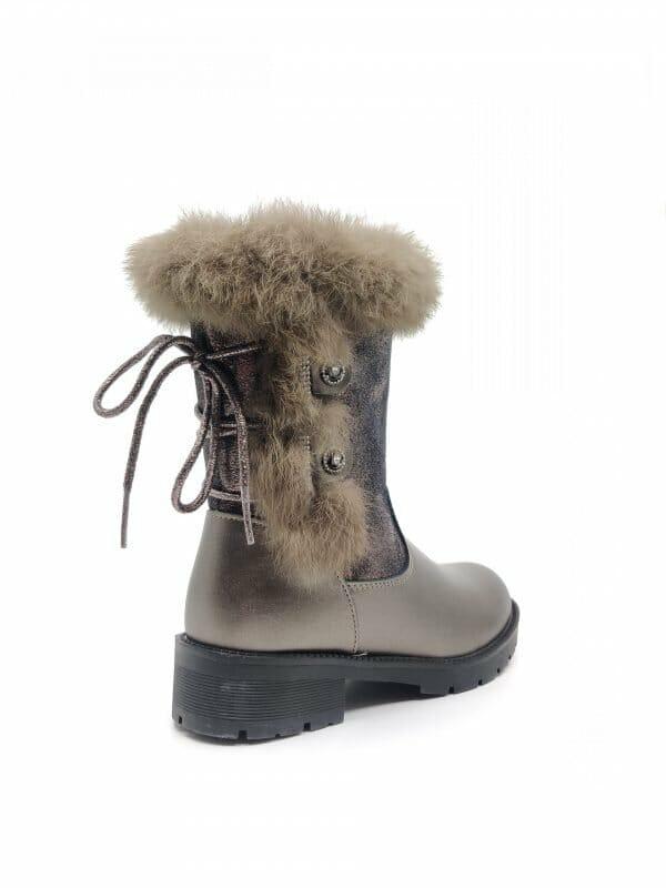 mergaitiški batai su kailiu