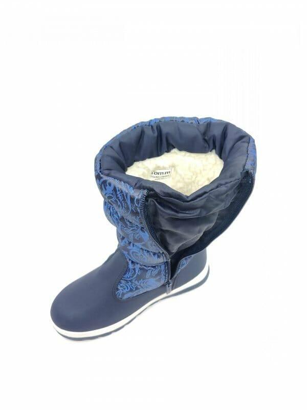 "Mėlyni neperšalmpami batai ""TOMMY2"""