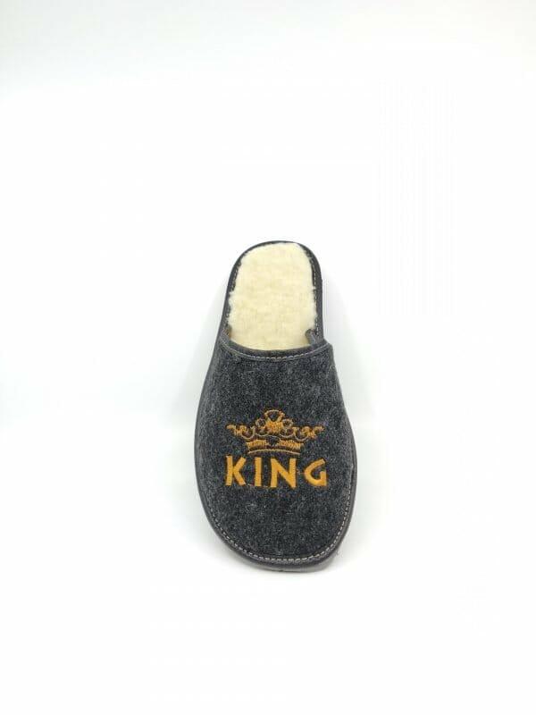 """Vilnonės šlepetės """"KING"""""""