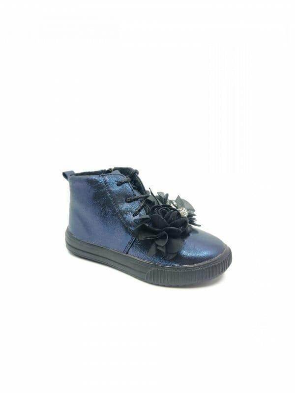 "Mėlyni batai mergaitėms ""FlowerPot"""